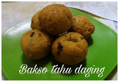 Tahu Bakso Telor resep masakan bakso tahu daging dapur yuli