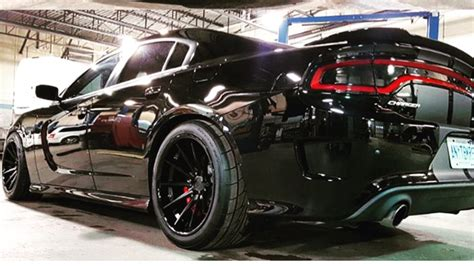 charger hellcat wheels ferrada fr4 wheels on a charger srt hellcat forum