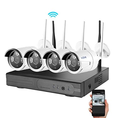 security system acehe hd 720p 4ch security