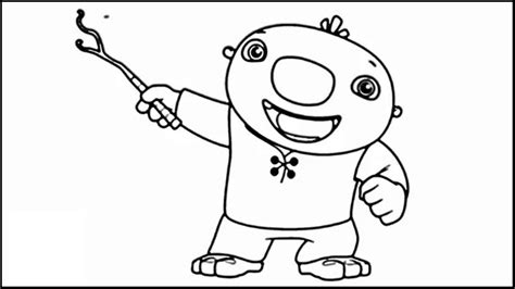nick jr wallykazam coloring pages wallykazam printable coloring page