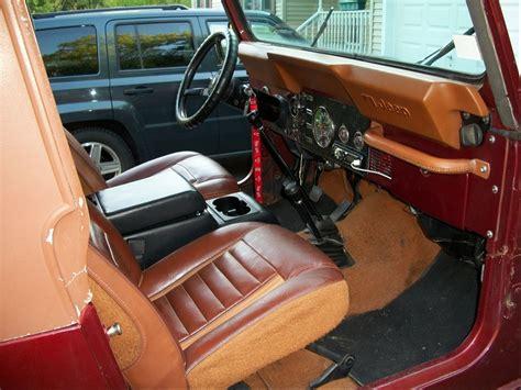 jeep custom interior 100 custom jeep interior interieur jeep wrangler yj