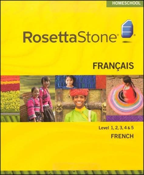 rosetta stone quebecois french rosetta stone french level 1 2 3 4 5 homeschool set
