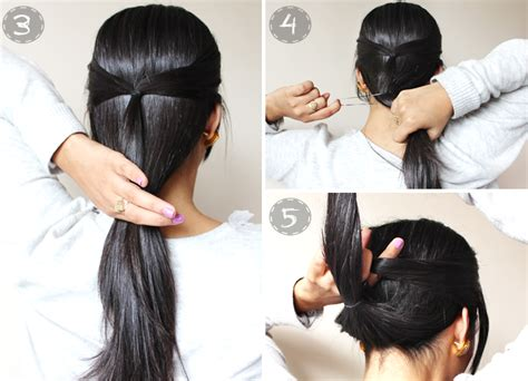 updo hairstyles quick and easy quick easy 2 minute casual updo