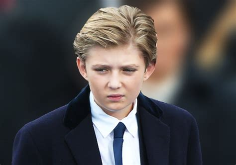 barron trump this is incredible barron trump just made a history with