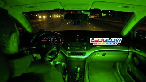Green Light Auto by Ledglow S Green Expandable Smd Led Interior Kit
