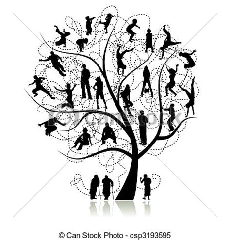 Family Tree Clipart Clipart Panda Free Clipart Images Vintage Genealogical Family Tree Sketch Vector Illustration Stock Vector