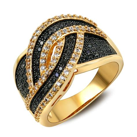 6 Bling Rings To Own by Fashion Woven Rings Bling Wedding Jewelry