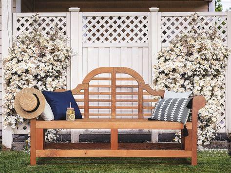 panchina in legno panchina da giardino in legno di balau 180cm java marlboro