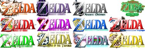 legend of zelda fan games twelve legend of zelda fan logos list 1 by jar3d226 on