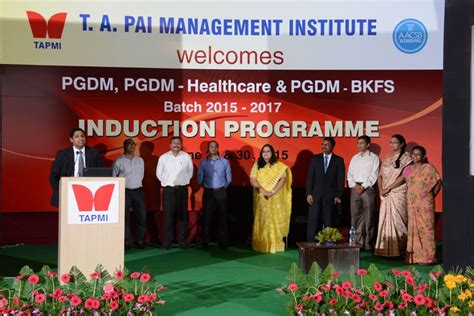 Of Ta Mba Contact by Ta Pai Management Institute Tapmi Manipal Details