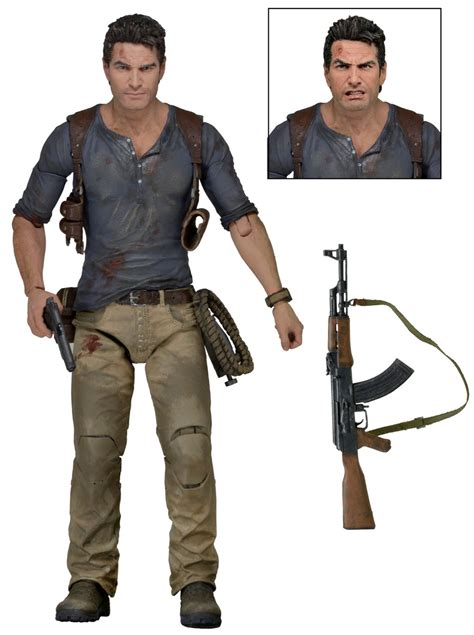 7 inch figure accessories neca uncharted 4 nathan on ebay the toyark news