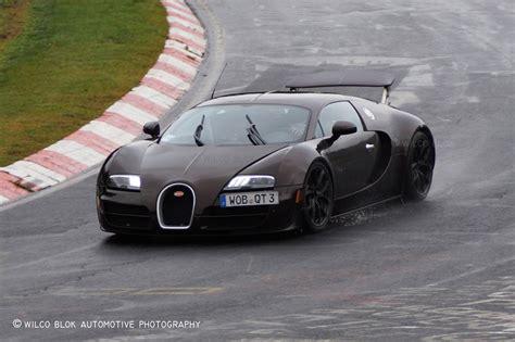 bugatti veyron hybrid prototype spied testing again gtspirit