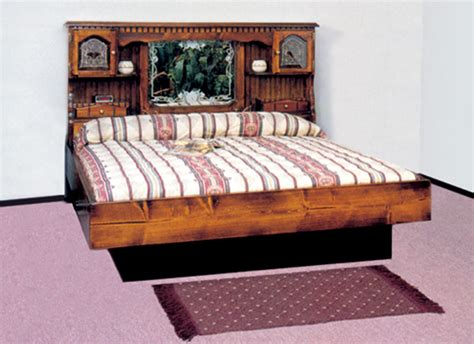 water bed frame waterbed countryside floral complete hb fr deck ped k
