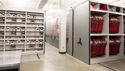 storage for room football equipment room storage ideas