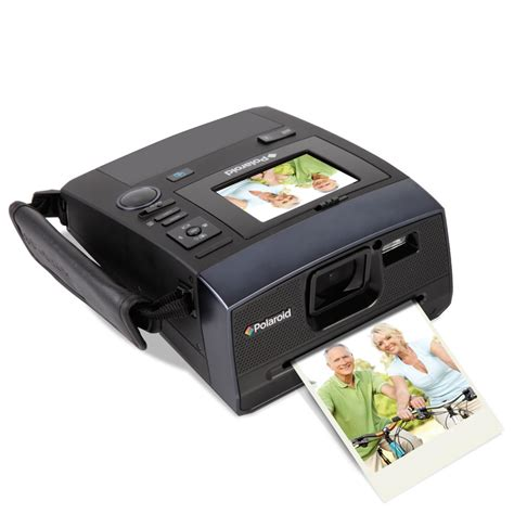 digital polaroid the 14 mp digital polaroid hammacher schlemmer
