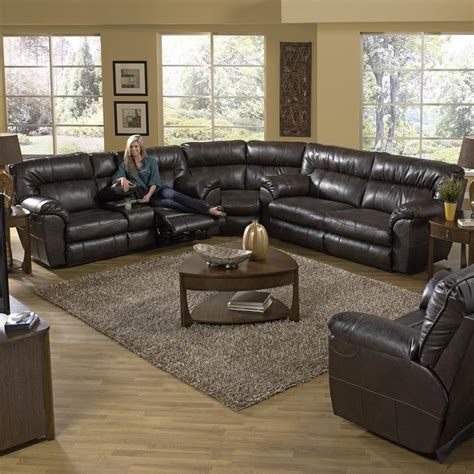 extra wide sectional sofa faux leather extra wide reclining sofa by catnapper wolf