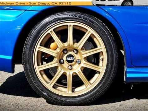 black subaru gold rims 2005 subaru impreza sedan 2 5 wrx sti w gold wheels san