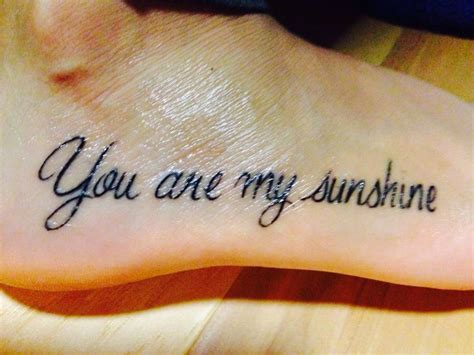 you are my sunshine tattoos you are my tattoos ribs