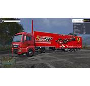 SKINS TRAILER  FERRARI F1/BANCO SANTANDER FINAL IMPROVED