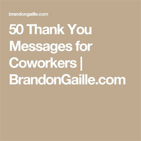 how to write a thank you note coworkers for wedding gift 51 thank you messages for coworkers messages 50th and