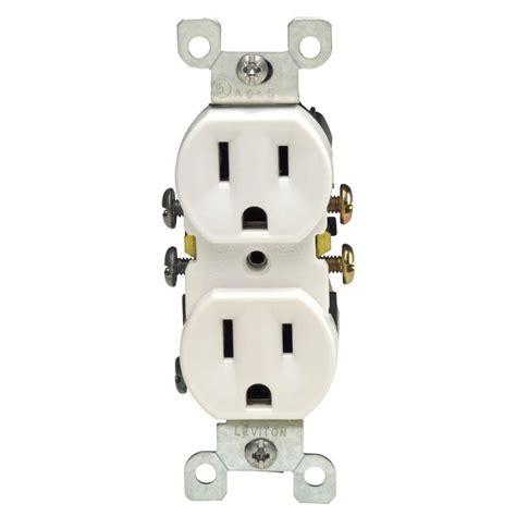 leviton 15 duplex outlet white 10 pack m24 05320