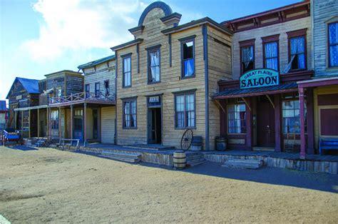 western movie sets in new mexico cerro pelon ranch santa fe usa silverado town