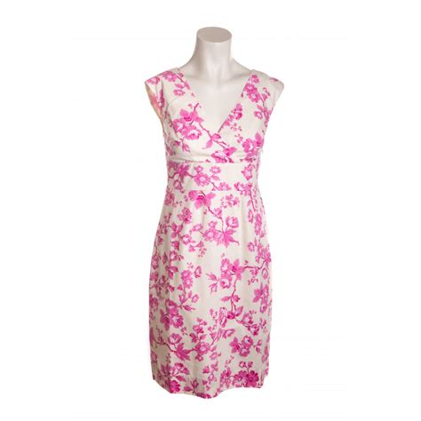 Lulia Shoes Polos joules womens floral print summer dress in pink
