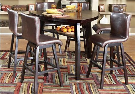 rooms to go dining sets shop for a noah 7 pc pub diningroom at rooms to go find dining room sets that will look great