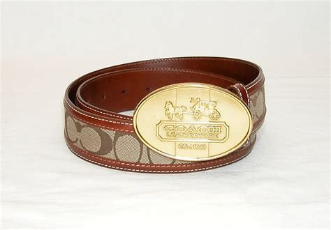 couch belts luxfiend new and pre owned luxury goods coach cognac