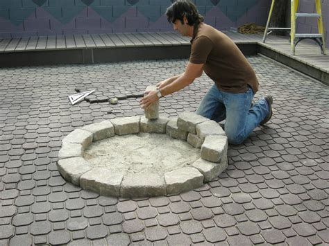 how to make an outdoor firepit how to make a backyard pit hgtv