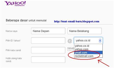 Cara Membuat Email Baru Rocketmail | cara membuat email ymail dan rocketmail