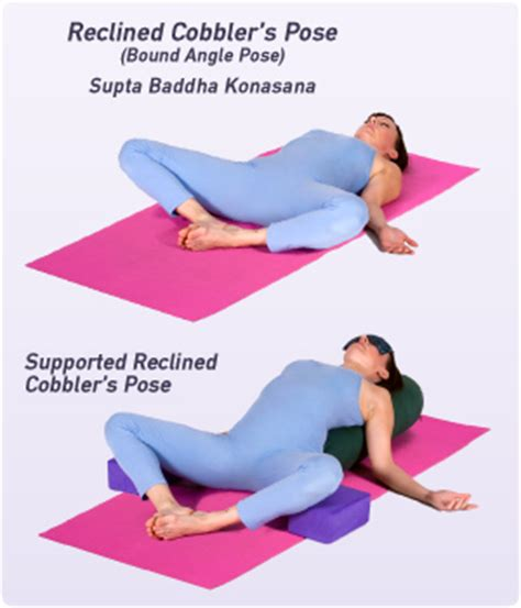 Reclined Position by How To Do Reclined Bound Angle Pose In