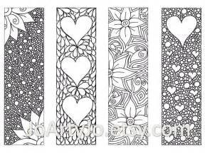 bookmarks to color s bookmarks to print and color zentangle