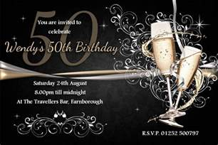 50th birthday invite template free 45 50th birthday invitation templates free sle