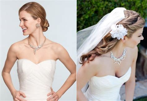 wedding jewelry   Tulle & Chantilly Wedding Blog