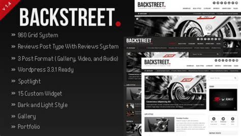 themeforest react native backstreet themeforest blog magazine theme wordpress