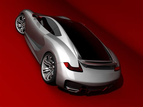 porsche supercar concept emil baddal designs new porsche supercar concept