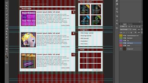 psd to html tutorial youtube converting psd to html tutorial part 1 youtube