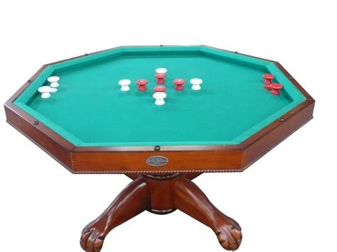 3 in 1 table octagon 48 quot table with slate bumper pool