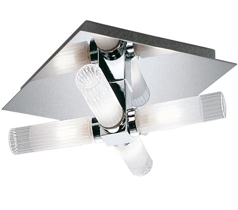 franklite ribbed shade bathroom ceiling light cf1286 franklite lighting luxury lighting franklite square 4 light flush bathroom ceiling light chrome finish with partly ribbed glass