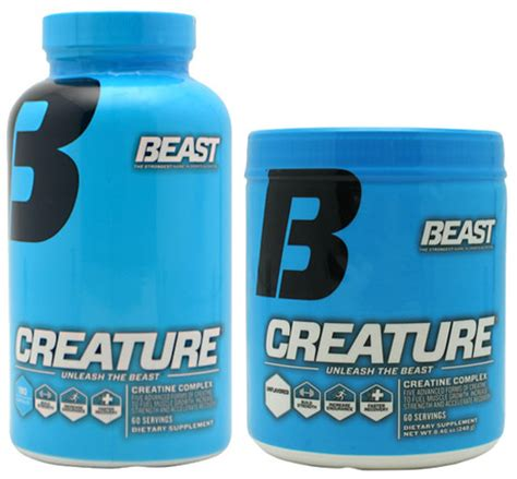 b creature creatine reviews new creature powder by beast sports 60 servings