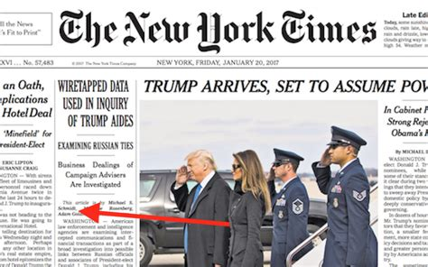 news articles from 2015 view articles from 2006 2007 2008 in bizarre plot to discredit trump ny times says ny times