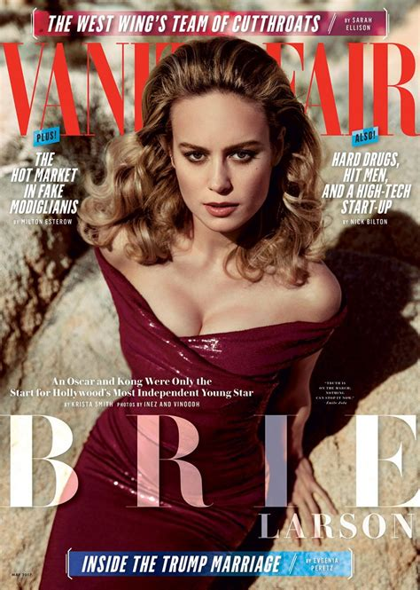 Vanity Magazine by Brie Larson In Vanity Fair Magazine May 2017 Hawtcelebs Hawtcelebs