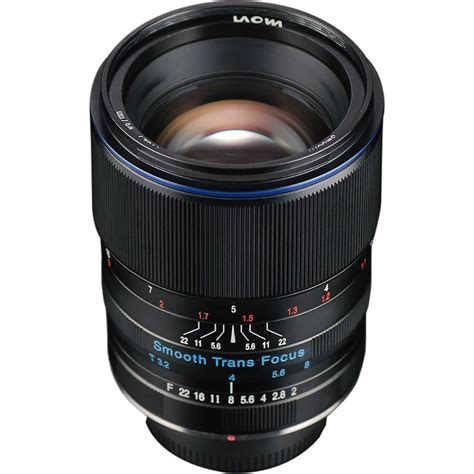 venus optics laowa 105mm f2 smooth trans focus e mount