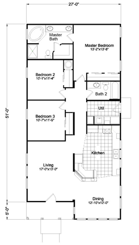 sunset home plans the sunset bay 4p56s52 home floor plan manufactured and
