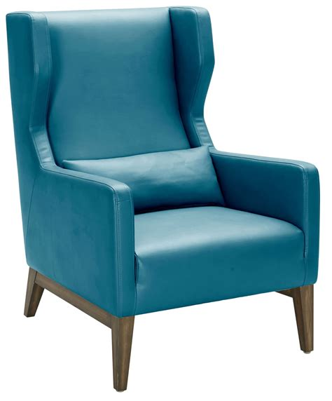 turquoise armchair messina turquoise leather armchair 100701 sunpan modern home