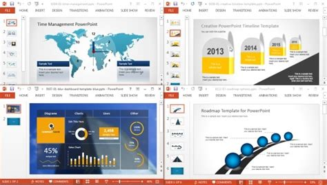 Download Amazing Microsoft Powerpoint Templates From Freeofficetemplates For Free Project Management Powerpoint Templates