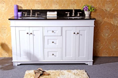 61 inch bathroom vanity 61 inch white double sink bathroom vanity with choice of