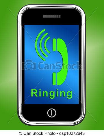 Free Call Lookup Cell Phones Drawing Of Ringing Icon On Mobile Phone Shows Smartphone Call Ringing Csp10272643