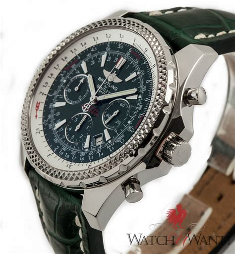 breitling bentley motors sold listing breitling for bentley motors chronograph